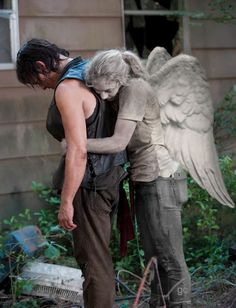 Daryl Dixon Beth Greene The Walking Dead #gc Daryl and Beth