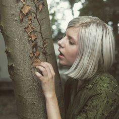 The little tree found a bigger one to hold on to. Love is beautiful.  credit : Gerrit Starczewski #AURORA #auroramusic