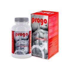 PROGO FOR MEN 30 TABS. Contribuye a un funcionamiento normal del sistema nervioso y al equilibrio psicológico gracias a las vitaminas C, B2, B5 y B12. Tomar 1 pastilla una vez al día con suficiente agua. No superar la dosis diaria recomendada. Envase de 30 cápsulas.