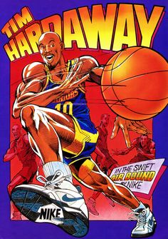 Discover recipes, home ideas, style inspiration and other ideas to try. Basketball Drawings, Basketball Posters, Basketball Art, Basketball Pictures, Basketball Legends, Basketball Videos, Basketball Uniforms, Nike Poster, Tim Hardaway