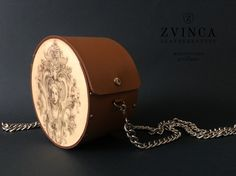 """Baroc"" Unique Wood and Leather Bag by ZVINCA Leather Bags, Other Accessories, Saddle Bags, Wood, Unique, Leather Tote Handbags, Woodwind Instrument, Leather Formal Bags"