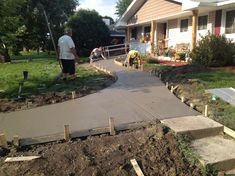 how to build wheelchair ramp fill dirt - Google Search