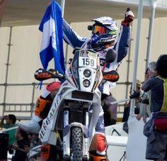 Koky Aguilar. Dakar 2013, Orgullosamente Salvadoreño.