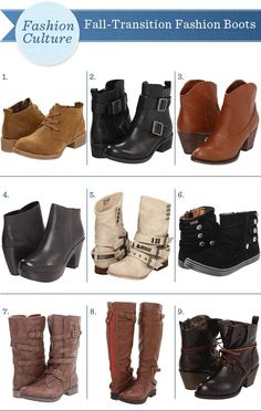 boots, boots and more boots!