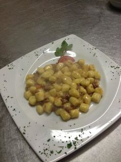 Gnocchi di patate con ragù d'oca #friuli #good #best #dishes #travel #gnocchi