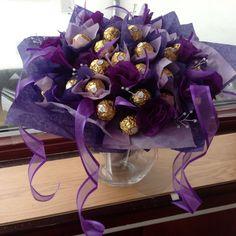 Ferrero rocher bouquet. My creation