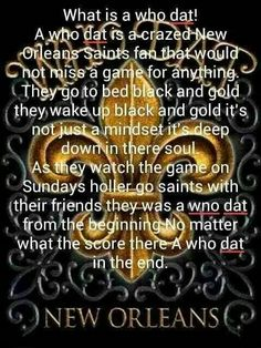What Is A Who Dat!