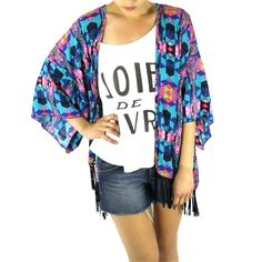 Don't Hate Me Kimono from Rack + Clutch for $44.00 on Square Market