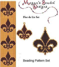 Flour de lis Pattern Set | Craftsy