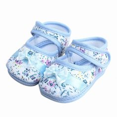 Barato 2016 Nova Chegada Do Bebê Sapatos de Flores Arco Sapatos de Bebê Da…