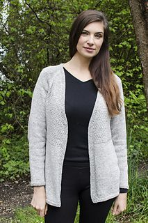 Ravelry: Textured Top Down Cardigan pattern by Cheryl Beckerich