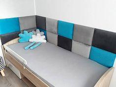 dappi - Galeria - panele tapicerowane, dekoracyjne, ścienne Headboard Tiles, Bed Headboard Design, Bedroom Bed Design, Home Room Design, Small Room Bedroom, Headboards For Beds, Kids Bedroom, House Design, 3d Kitchen Design