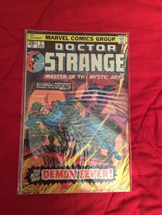 My classic Doctor Strange issue 7