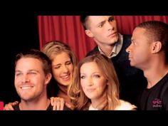 Arrow opening credits - Friends Style
