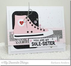 Be Original, Sweater Stitch Background, Woodgrain Background, All-Star High Top Die-namics, Stitched Rounded Rectangle STAX Die-namics - Barbara Anders #mftstamps