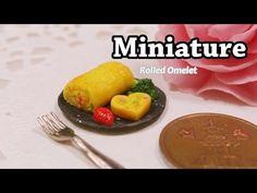 ▶ 미니어쳐 계란말이 만들기 Miniature * Rolled Omelet - YouTube