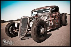 Rat Rod-Actually the husband wants one now...how cool would it be to drive this around town??
