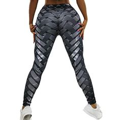 04b2874ce7 FITTOO Hight Waisted Printed #Leggings #Sexy Gym #Fitness #Yoga Pants for #