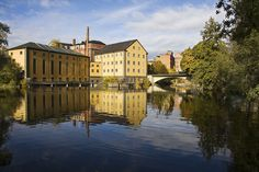 Norrköping Waters by diesmali, via Flickr