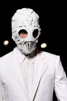 Was obsessed with Givenchy SS 2011. I loved the masks with the putfits