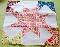 Stitches and Scissors: Penelope's Star Quilt - tutorial