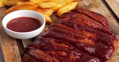 """We hooked up with our friend Kate from Animal Equality to make these amazingly meaty """"ribs"""". They were unbelievable in terms of taste & texture, we thoroughly recommend that you make them at home! This recipe will serve 2 people"""