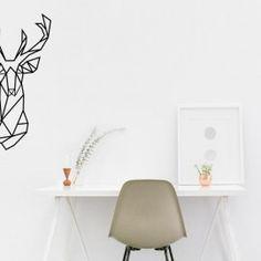 naklejka JELEŃ geometryczny 76cm Home Decor, Decoration Home, Room Decor, Home Interior Design, Home Decoration, Interior Design