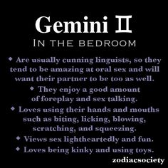 Gemini in the bedroom