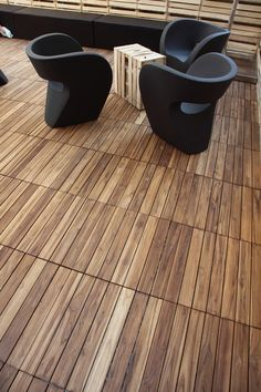 Wooden decking DECKOUT - QUADROTTA by @menottispecchia