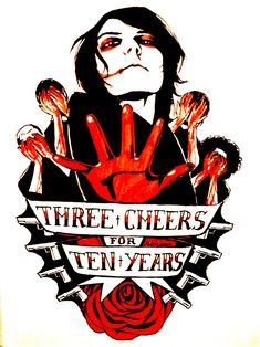 Hey — mychemicaldoodle: Three Cheers For Sweet Revenge