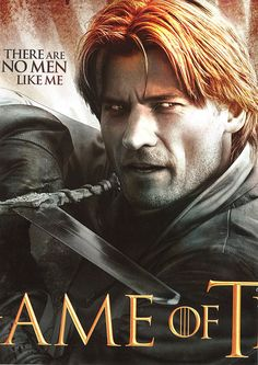Game of Thrones - Season 2 - Jaime Lannister Game Of Thrones Jaime, Game Of Thrones Art, Valar Dohaeris, Valar Morghulis, Best Television Series, Game Of Thones, Nikolaj Coster Waldau, Jaime Lannister, My Sun And Stars