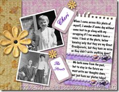 Use Journaling to Improve Digital Scrapbooking Pages  In this blog article get helpful journaling ideas, free font resources, links to other articles that give you information on scrapping with poems.
