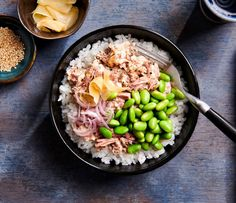 Vegetarian Recipes, Healthy Recipes, Poke Bowl, Edamame, Superfood, Catering, Sushi, Good Food, Food And Drink