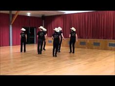 BALLYMORE BOYS Line Dance (Dance & Teach in French) - YouTube