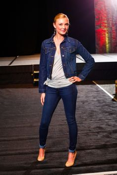 Spring 2014 Collection Fashion Show at the Women Today Expo. Denim by Marc Nelson Denim. Tops and jewelry by Diana Warner. Photos by Bob Franklin