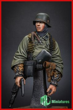 WSS Grenadier in the Ardenne 1945. Now in stock from MJK Miniatures. Click on the pic for more details