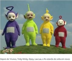 TELETUBIES-TINKY - WINKY - LAA-LAA - E o  PO