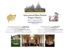 Prague, classics concert list