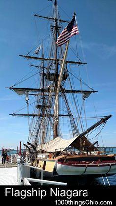 US Brig Niagara - Flagship Niagara tour on Lake Erie