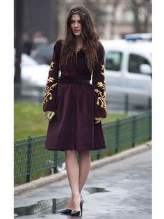 Paris Fashion Week Street Style Fall 2012 - Fall Fashion Week Street Style - Marie Claire