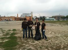 Meade Lexus was proud to lend a hand during National Public Lands Day! Meade Lexus employees volunteered their time to help revitalize and clean the Dequindre Cut Bike Path, which is part of the Detroit Riverfront Conservancy.