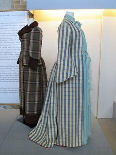 Blue Plaid Maternity Ensemble via the Fashion History Museum. Photo by Ingrid Mida.