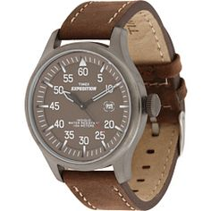 Timex Watches: A Trusted Bargain Brand. Timex Watches: A Trusted Bargain Brand When acquiring any product, the objective, for many people, is to discover the ideal combination between cost, perfo Timex Expedition, Timex Watches, Amazing Watches, Made In America, Military, Brown, Trust, Free Shipping, Edc
