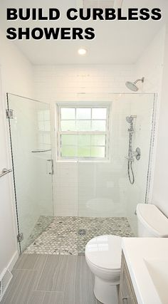 Recessed Shower Subfloor With Mortar 1 2 Quot Curb For
