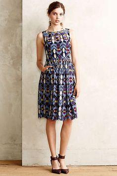 Pretty pattern. Anthropologie - Chelan Dress