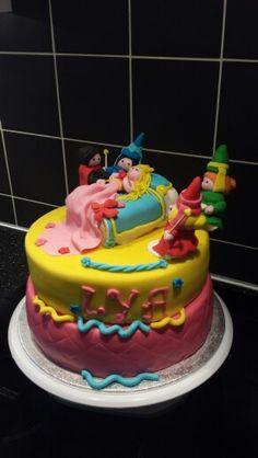 Doornroosje taart, cinderella cake