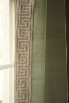 Greek Key Keys And Curtains On Pinterest