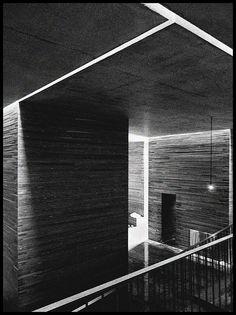 Peter Zumthor - Thermal Baths, Vals, Switzerland- still wanna go Shadow Architecture, Colour Architecture, Studios Architecture, Architecture Details, Interior Architecture, Concrete Architecture, Therme Vals, Spa Interior Design, Concrete Facade