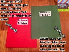 2nd Grade Stuff: Keep Students Organized with Folders!