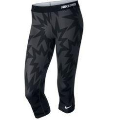 Printed Nike capris